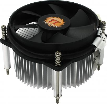 Кулер Thermaltake ITBU CLP0556 (1156) , fan 9 см, 2100 RPM free delivery ac230v 8 cm high quality axial flow fan cooling fan 8038 3 c 230 hb