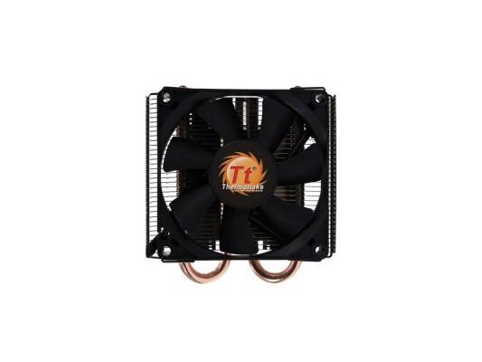 Кулер Thermaltake SlimX3 CLP0534 (775/1156) ,fan 8 см,1200-2400 RPM кулер thermaltake silent 1156 clp0552 1156 fan 9 cm 800 1700 rpm
