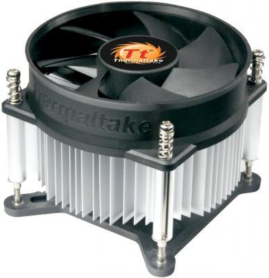 Кулер Thermaltake ITBU CLP0556-B (1156) , fan 9 см, 2100 RPM free shipping q5669 60664 for hp designjet t610 t1100 z2100 z3100 z3200 vacuum fan aerosol fan assembly original used