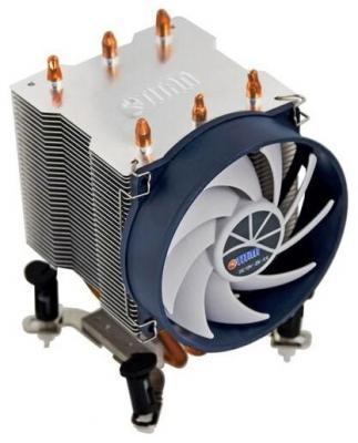 Кулер Titan TTC-NK35TZ/R(KU) (775,1366,1156.K8) вентилятор titan ttc nk35tz r ku socket 1366 1156 1155 775 k8 am2 am3 heatpipes silent ttc nk35tz r ku