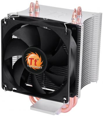 Кулер Thermaltake Contac 16 CLP0598 (1155/1156/775/FM1/AM3+/AM3/AM2+/AM2) fan 9 cm, 2400 RPM кулер thermaltake contac 21