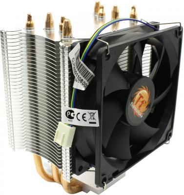 Кулер для процессора Thermaltake Contact 21 CLP0600/0598 Socket 1366/1155/1156/775/FM1/AM3+/AM3/AM2+/AM2 кулер для процессора titan ttc nc15tz ku rb socket 1366 1156 1155 775 am3 am2 am2 k8