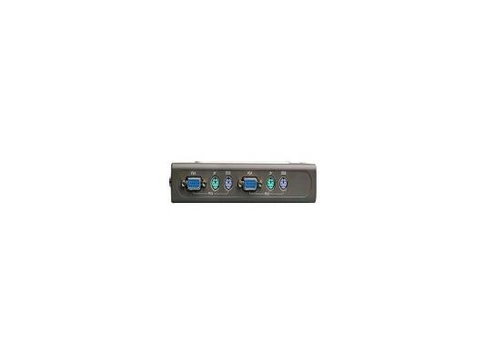 KVM-переключатель D-Link DKVM-4K 4-x портовый переключатель KVM hightek hk 4t1vku 4 ports kvm switcher 4 vga in 1 vga out kvm switch box