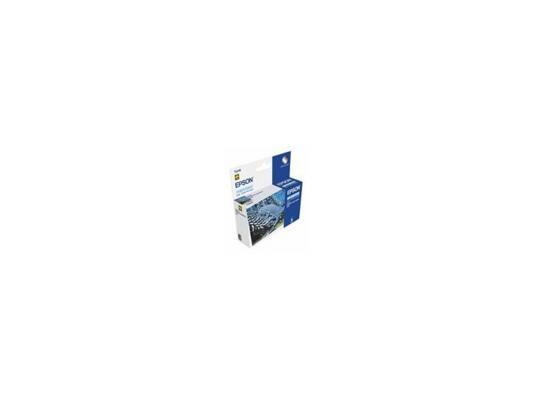 Картридж Epson Original Т034540 (светло-синий)для Stylus Photo 2100 картридж epson original t67354a светло голубой для l800