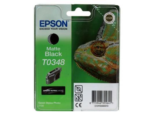 Картридж Epson Original Т034840 для Stylus Photo 2100 epson картридж original t054040