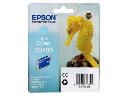 Картридж Epson Original T048540 (светло-синий) для ST Photo R300/R300ME/ картридж epson original t67354a светло голубой для l800