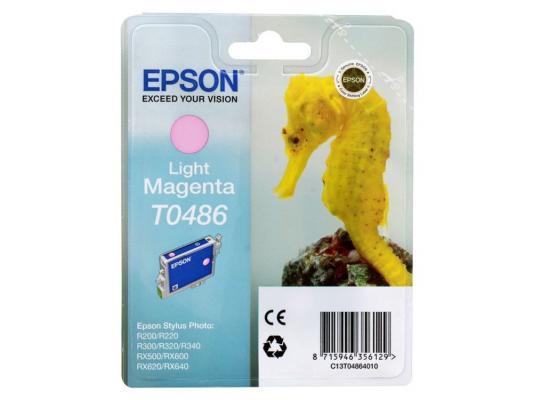 Картридж Epson Original T048640(светло-красный) для ST Photo R300/R300ME/ картридж epson original t67354a светло голубой для l800