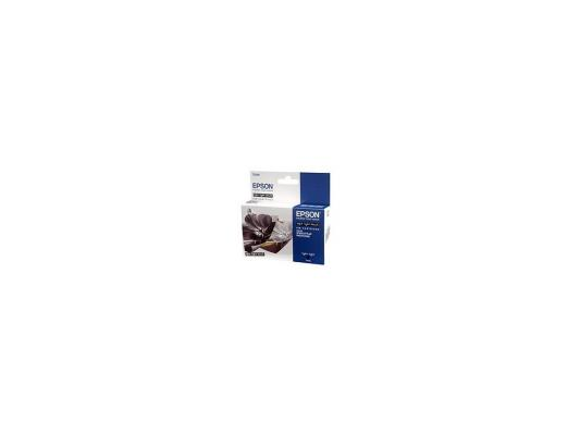 Картридж Epson Original T059940 (светло-серый) для Stylus Photo R2400 картридж epson original t67354a светло голубой для l800