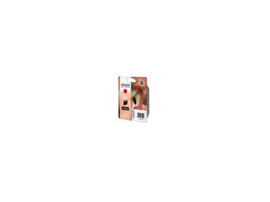 Картридж Epson Original T08774010 (красный) для R1900 new original f186000 print head printhead compatible for epson r1900 r2000 r2880 4880c 7880c 9880c oil solvent printer head