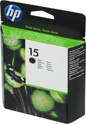 Картридж HP C6615DE (№15) черный DJ810/825/840/845/920/940/3820 картридж hp 647a черный [ce260a]