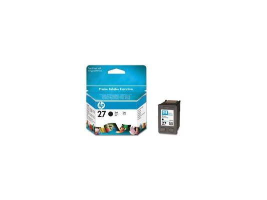 Картридж HP C8727AE (№27) черный DJ3325/3420 картридж hp 647a черный [ce260a]