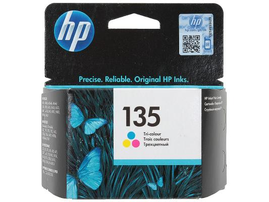 Картридж HP C8766HE (№135) цветной 7мл DJ5743/6543/6843, OJ6213/7313/7413, PS2613/2713/8153/8453