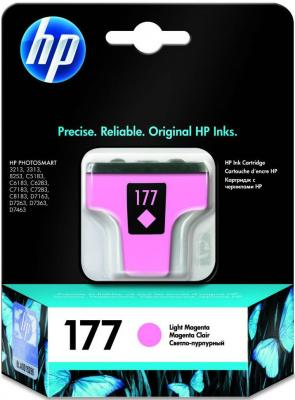 Картридж HP C8775HE (№177) светло-пурпурный PSM8253 2pcs alzenit oem new for hp 1010 1012 1015 1020 3015 3020 3030 charge roller q2612a printer parts