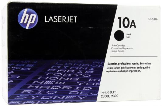 Тонер-картридж HP Q2610A (LJ2300) hp c4129x черный картридж лазерный тонер картридж повышенная черный