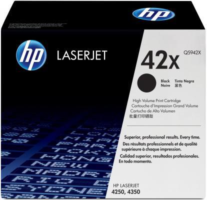 Тонер-картридж HP Q5942X LJ 4250/4350 тонер картридж hp q5942xd черный черный x2уп для hp lj 4250 4350 40000стр