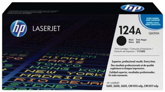 Тонер-картридж HP Q6000A (Color LaserJet 1600 ) Чёрный стоимость