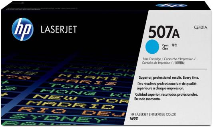 Тонер-картридж HP CE401A (№507A) Голубой CLJ M551