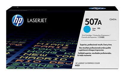 Тонер-картридж HP CE401A (№507A) Голубой CLJ M551 тонер картридж cactus csp ce401a premium для hp clj color m551 голубой 6000стр