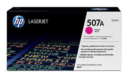 Тонер-картридж HP CE403A (№507A) Пурпурный CLJ M551 картридж nv print hp ce403a magenta для clj color m551