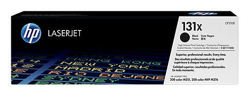 Тонер-картридж HP CF210X ( 131X) черный