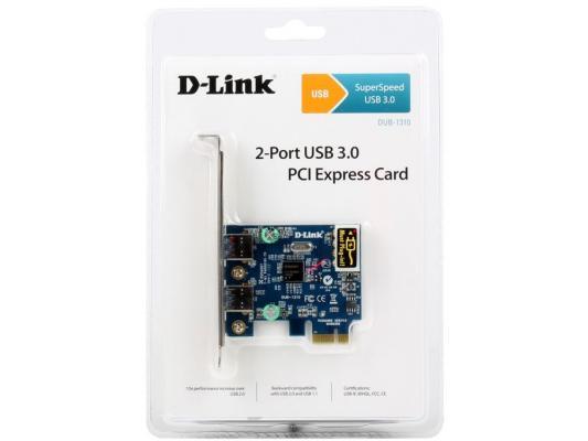 Контроллер PCI-E D-LINK DUB-1310 USB 3.0
