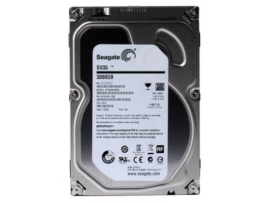 3.5'' Жесткий диск 3Tb Seagate SV35 Series (ST3000VX000) SATA III  <7200rpm, 64Mb>