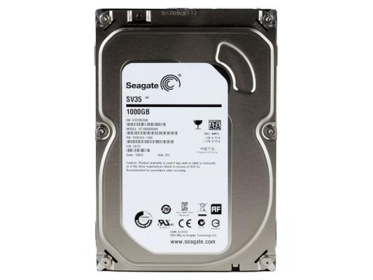 3.5'' Жесткий диск 1Tb Seagate SV35 Series (ST1000VX000) SATA III  <7200rpm, 64Mb>