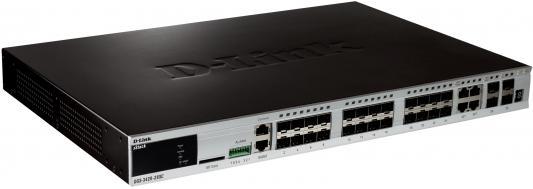 Коммутатор D-Link DGS-3420-28SC цена и фото