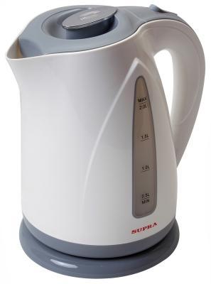 Чайник Supra KES-2004 2200 Вт серый 2 л пластик чайник supra kes 1838 2200 вт 1 8 л