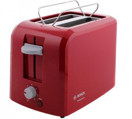 Купить со скидкой Тостер Bosch TAT 3A014 красный