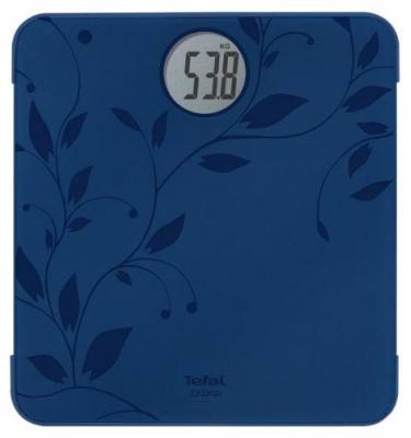 Весы напольные Tefal PP1212 синий весы напольные tefal pp5150v1 серебристый