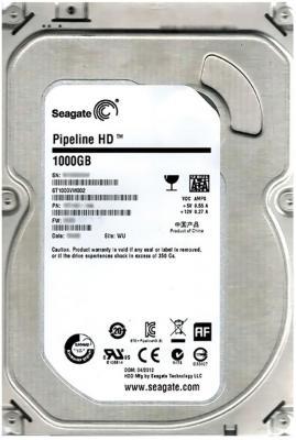 3.5'' Жесткий диск 1Tb Seagate Original (ST1000VM002) SATA II <5900rpm, 64Mb>