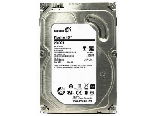 3.5'' Жесткий диск 2Tb Seagate Original (ST2000VM003) SATA II <5900rpm, 64Mb> все цены