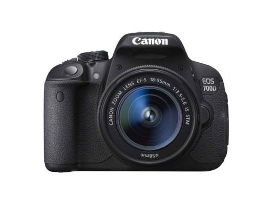 Зеркальный фотоаппарат Canon EOS 700D Kit black 18-135 IS (8596B009)