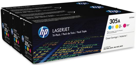 Картридж HP CF370AM для HP LaserJet Pro 300 Color M351a LaserJet Pro 300 Color MFP M375nw LaserJet Pro 400 Color M451dn LaserJet Pro 400 Color M451dw LaserJet Pro 400 Color M451nw LaserJet Pro 400 Color MFP M475dn LaserJet Pro 400 Color MFP M475dw 2600 3 цвета (голубой, пурпурный, желтый) toner cartridge compatible hp cf280x for hp 400 m401n m401dn m401d pro 400 mfp m425dw