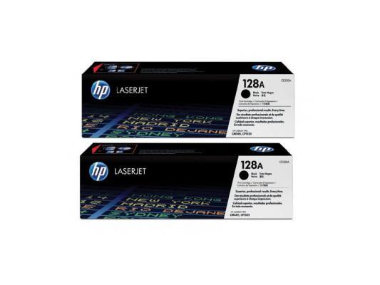 Тонер-картридж HP CE320AD черный для LJ Pro CP1525N/CP1525NW картридж hp ce323a 128a для clj pro cp1525n cp1525nw пурпурный