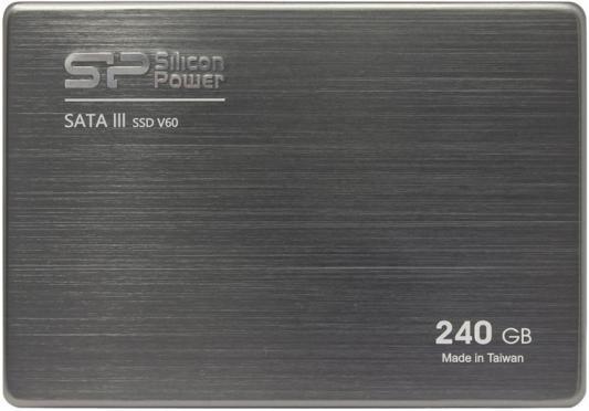 "2.5"" Твердотельный накопитель SSD 240Gb Silicon Power V60 (SP240GBSS3V60S25) SATAIII"