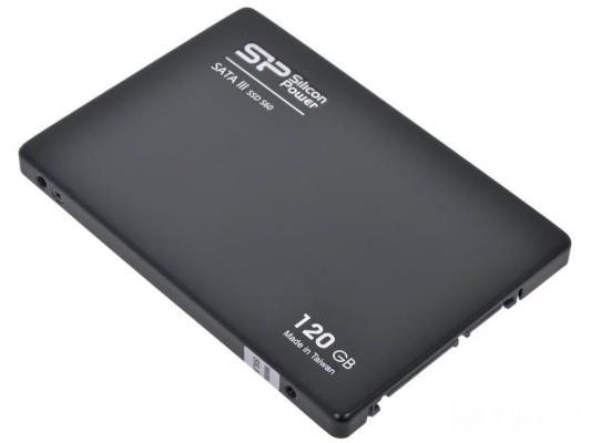 """Купить со скидкой Твердотельный накопитель SSD 2.5"""" 120 Gb Silicon Power S60 Read 550Mb/s Write 500Mb/s SATA III"""