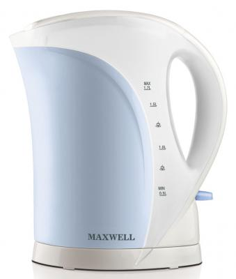 Чайник Maxwell MW-1021-01-B 2200 Вт голубой 1.7 л пластик
