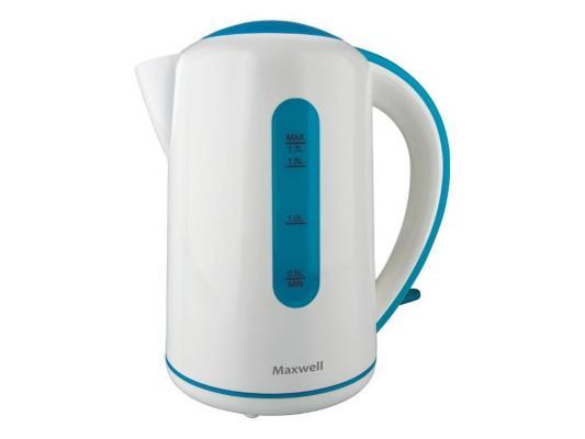 Чайник Maxwell MW-1028(B) чайник maxwell mw 1028 g белый 2200 1 7л