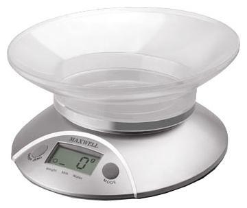 Весы кухонные Maxwell MW-1451(SR) серебристый весы багажные maxwell mw 1462 sr электронные серебристый