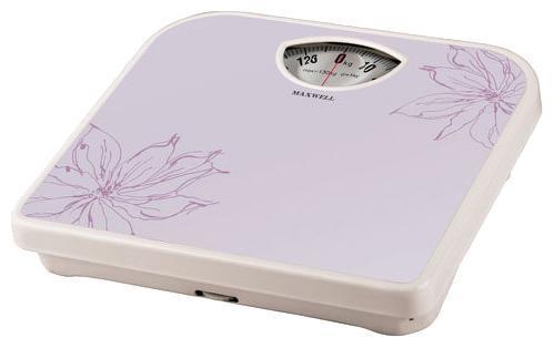 Весы напольные Maxwell MW-2656(W) фиолетовый белый