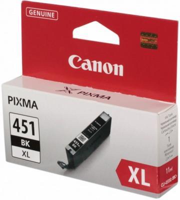 Картридж Canon CLI-451BK XL чёрный. MG6340, MG5440, IP7240 . 1130 страниц.(10*15) чернильный картридж canon cli 451gy xl grey