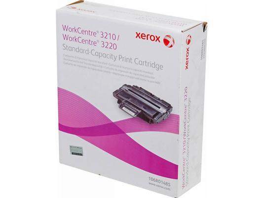 Тонер-картридж Xerox 106R01485 black (2000 стр.) для WC3120/3220 принт картридж workcentre 3210 3220 2000 страниц 106r01485