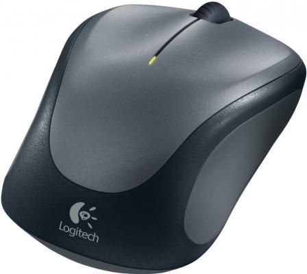 все цены на Мышь беспроводная Logitech M235 чёрный серый USB 910-002203/2201