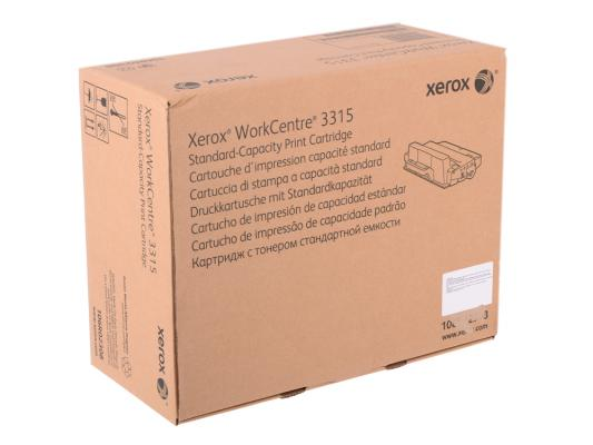 Тонер-картридж Xerox 106R02308 Black для Workcentre 3315 картридж xerox 106r02308 для workcentre 3315 2300стр черный