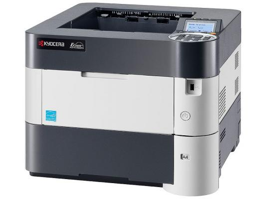 Принтер Kyocera лазерный FS-4100DN A4, 1200dpi, 256Mb, 45 ppm, дуплекс, USB 2.0, Network 10/100/1000BaseT (1102MT3NL0)