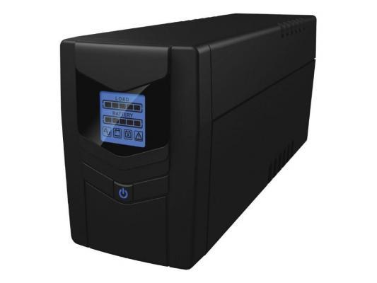 Источник бесперебойного питания Ippon Back Power LCD Pro 800 источник бесперебойного питания ippon back power pro lcd 600