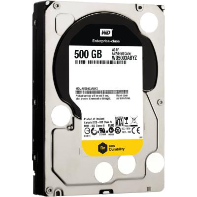 3.5'' Жесткий диск 500 Gb Western Digital RE (WD5003ABYZ) SATA III <7200rpm, 64Mb> жесткий диск hdd 1500 gb wd 7200 sata ii 64mb raid wd1502fyps re4e