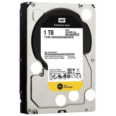 3.5'' Жесткий диск 1Tb Western Digital RE (WD1003FBYZ) SATA III <7200rpm, 64Mb>